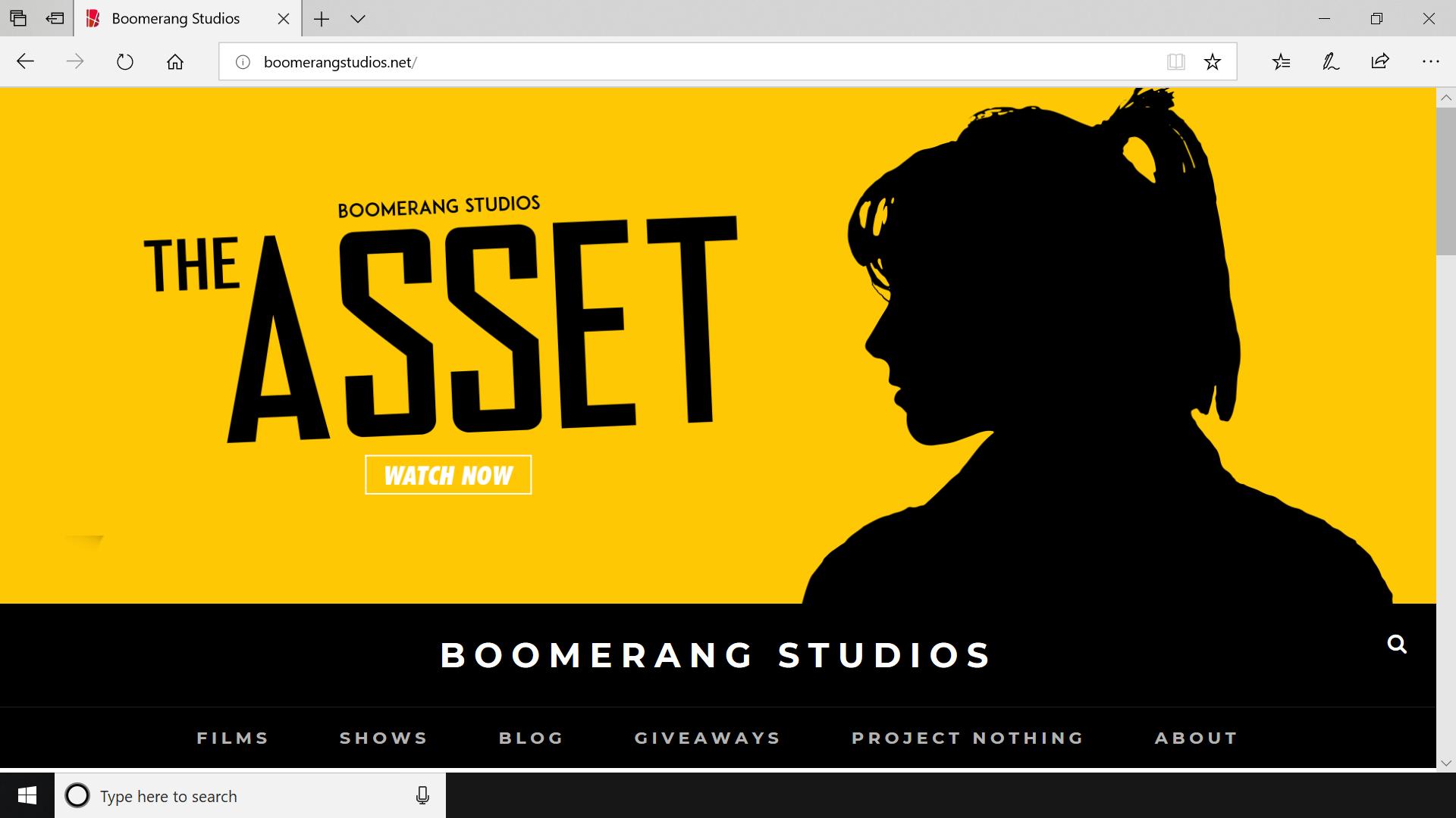 Redesigned Website Screenshot